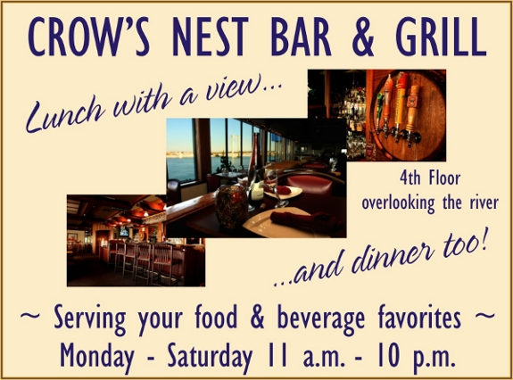 Crow's Nest | Kennewick Waterfront Restaurant