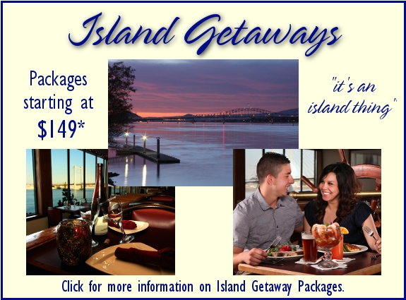 Clover Island Inn Island Getaway Packages
