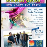 New Year's Eve Party Time At Clover Island Inn