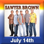 Sawyer Brown Returns to Clover Island Inn