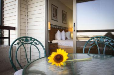 Columbia suite Balcony kennewick hotel