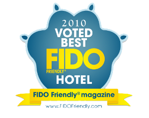 Voted Fido Friendly Hotel