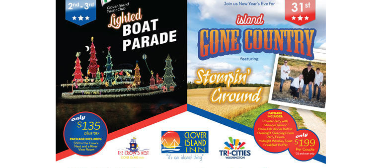 clover island inn winter events in Tri-Cities
