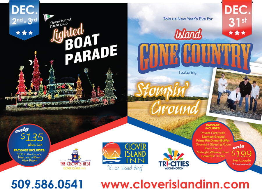 clover island inn winter events