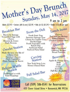 Mothers Day Brunch | May 14