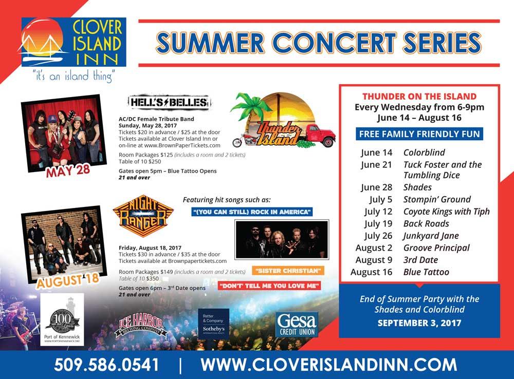 summer concert series lineup
