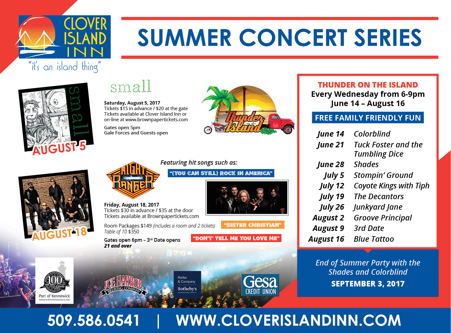 summer concert series kennewick